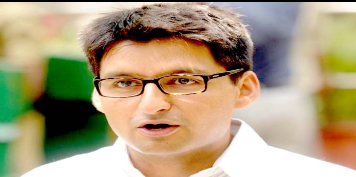 Due to the BJP rule, the debt on farmers doubled: Dipendra