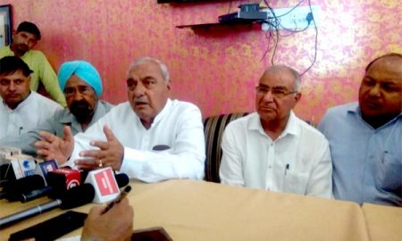 Hooda says no intention of contesting elections