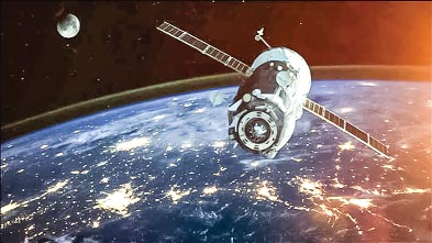Junket satellites in space