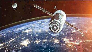 Junket satellites in space