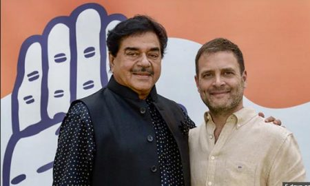 Lok Sabha elections: Shatrughan Sinha joins Congress