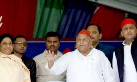 Mulayam Singh Yadav expressed gratitude to BSP supremo in a meeting held