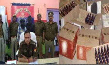 Two smugglers, Sarvesh Tiwari and Anuj Tiwari arrested