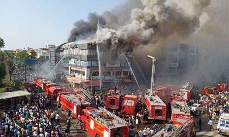 19 dead in a building in Surat