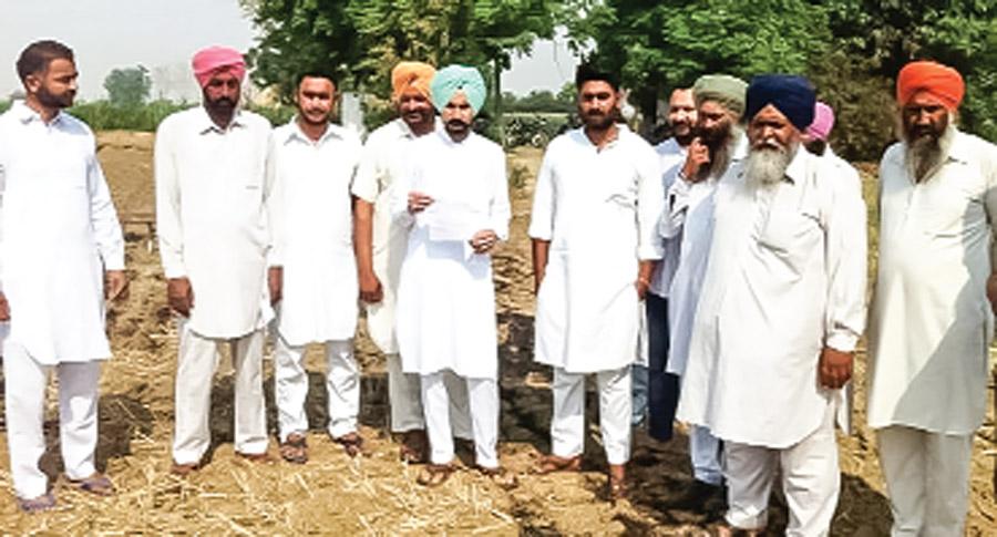 Appeal to farmers for plowing free water in empty fields