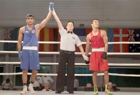 Boxer Gaurav, Manish to Gold in Poland