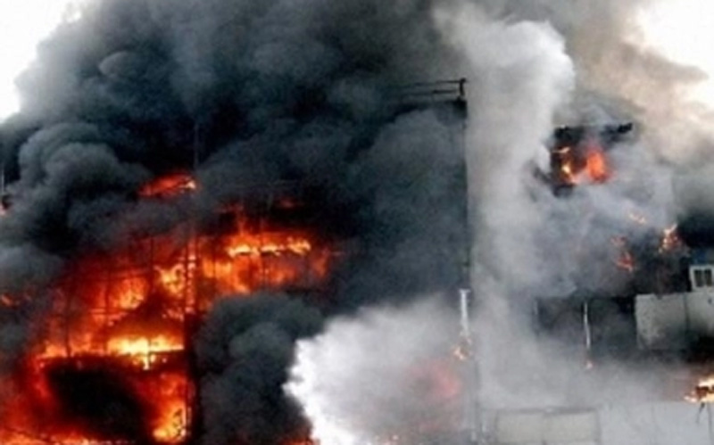 Delhi: The fierce fire in the girls' hoste