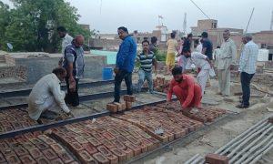 Dera devotees set up a needy family