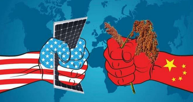 Economic war of China and America