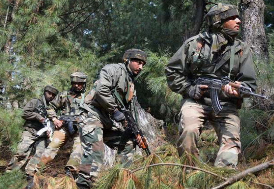 Encounter, Terrorists, Army