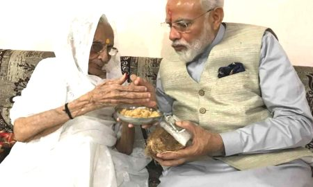 Gujarat: Modi's first tour after victory in elections: Will bless mother