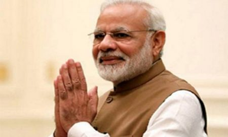 Modi will reach home territory for the first time after a grand victory