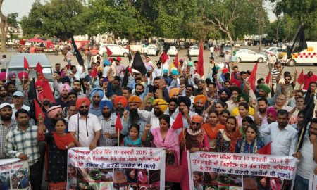 Teachers' demand for huge 'flag march' in Patiala Lok Sabha