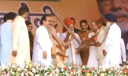 Prime Minister Narendra Modi addressed rally in Haryana's Fatehabad