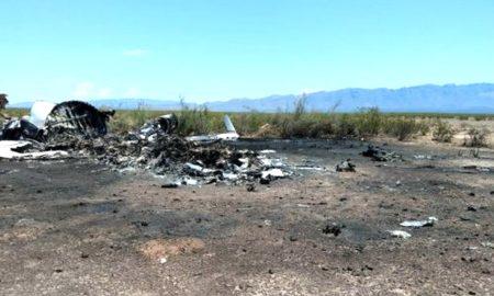 Private jet crashes