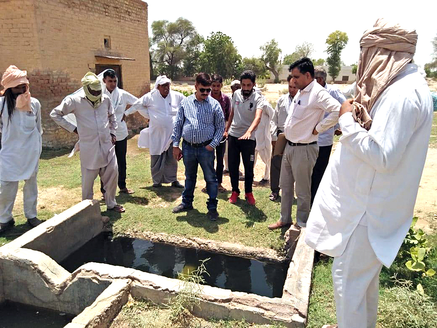 SDM to see village drinking water problem of 14 KV