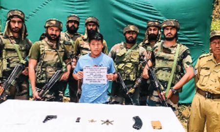 Signal withdrawal of Naga insurgency