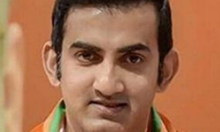 Gambhir sent three leaders of 'AAP' defamation notice