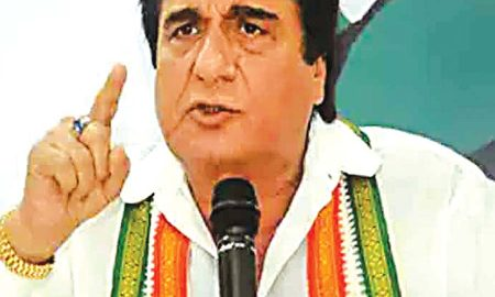 Elections to the people sitting in the jail, : Raj Babbar