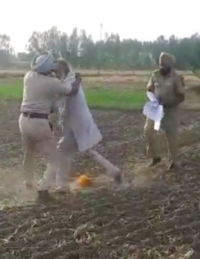 investigate beaten up farmers