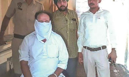 Eight thousand rupees ASI arrested