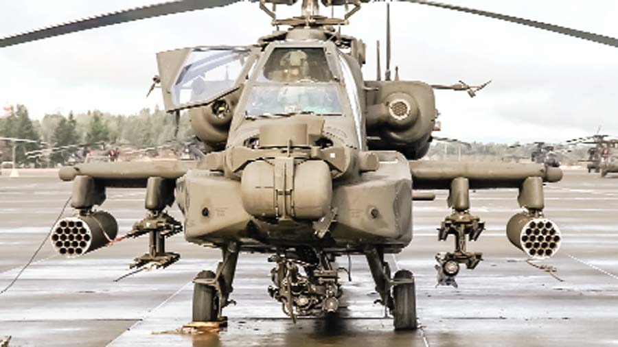 'Apache' will take place for the enemy