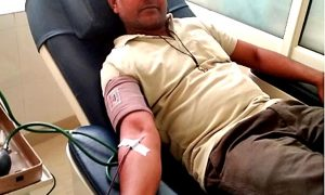 10 units blood donation for needy patients