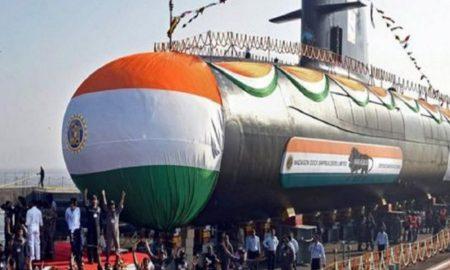 submarine INS Vela of Scorpene class