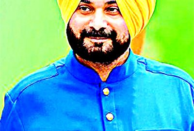 Navjot Sidhu's political walks