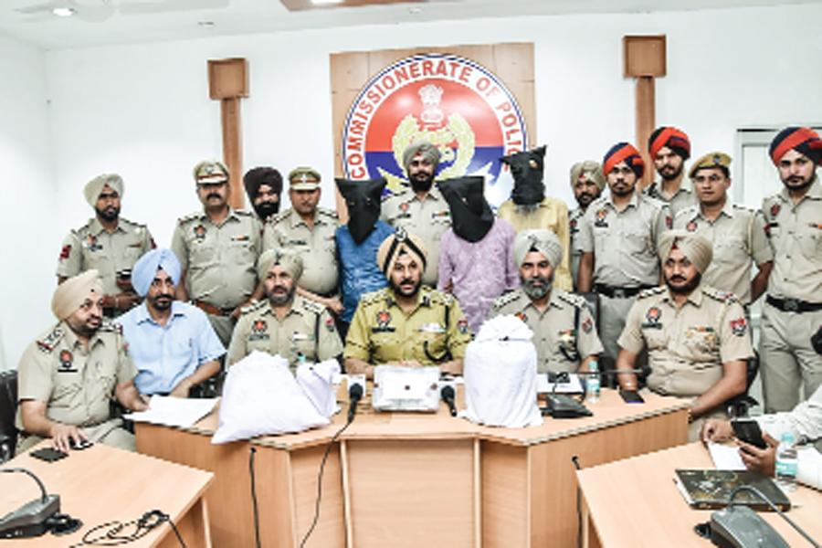 arrested including three smugglers