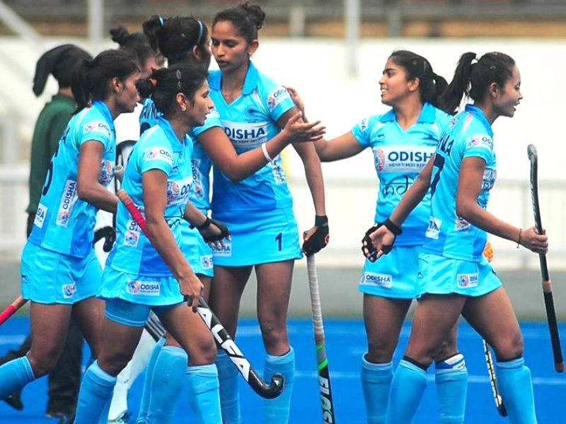 Women's hockey: India defeated South Korea 2-1