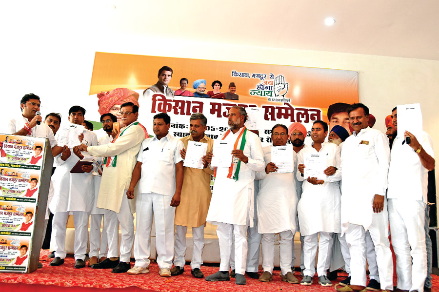 farmers support of Congress