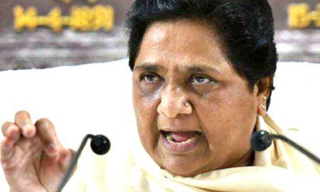 मोदी की नैया डूब रही है, संघ ने भी उन्हें समर्थन देना बंद किया: मायावती