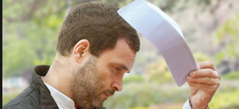 Congress raises doubts over Rahul's resignation
