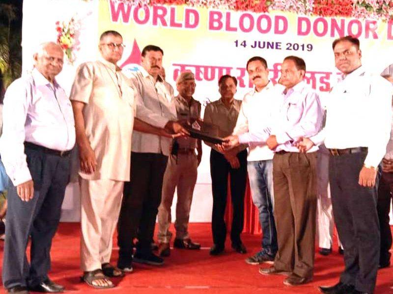 Dera Sacha Sauda Deed on World Blood Donation Day