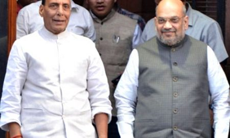 Home Minister Shah, Defense Minister Rajnath takes charge