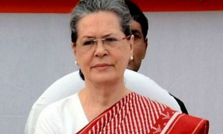 Minister of the Modi Government met Sonia Gandhi
