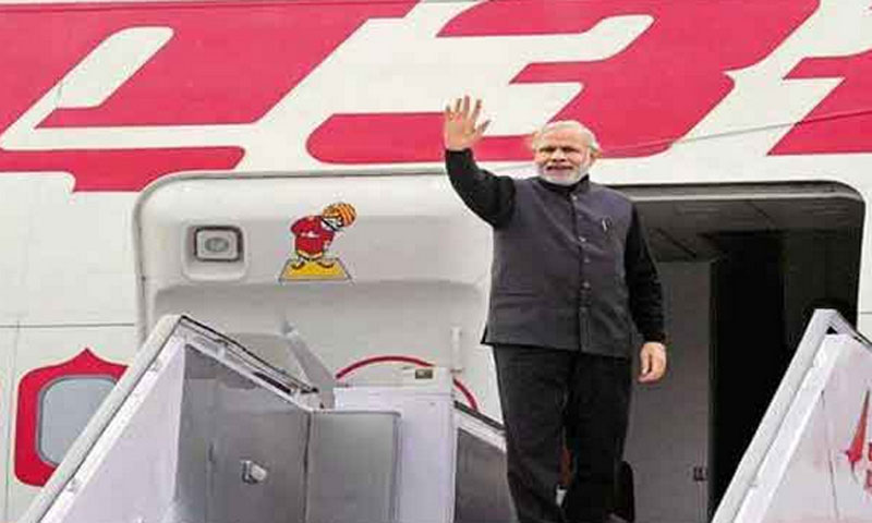 Modi will not use Pakistan's airspace