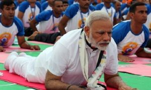 Narendra Modi will make yoga at special yoga made in world yoga day / Haryana