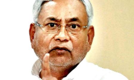 Nitish's displeasure