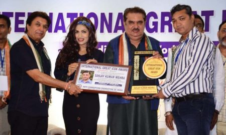 Sanjay Mehra meets International Great Icon Award