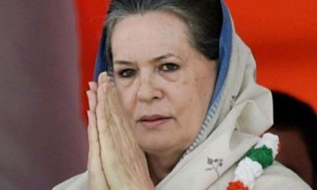 Sonia Gandhi elected leader of parliamentary party