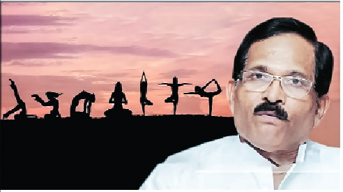The purpose of yoga is not to make politics but to make healthy