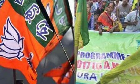 Threat to BJP-IPFT alliance in Tripura