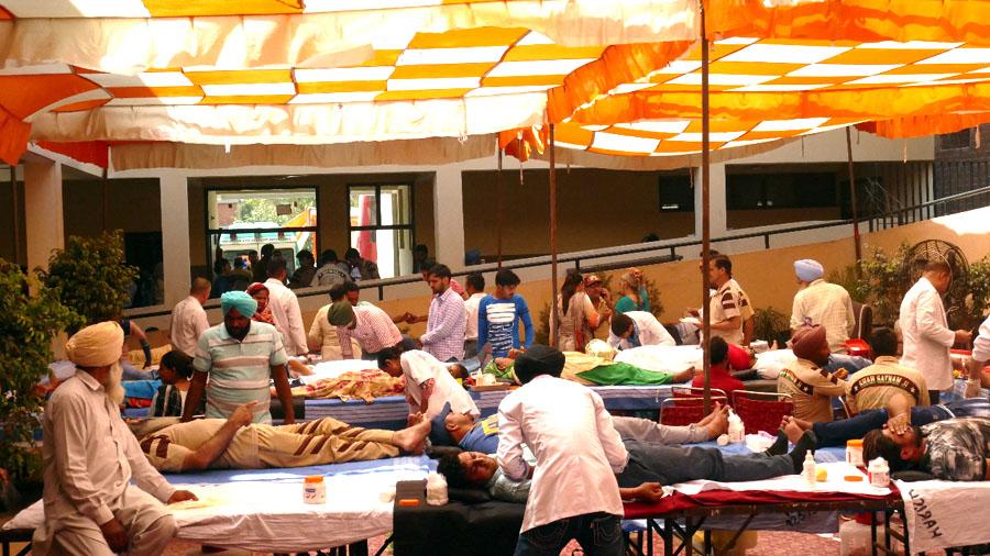 Triu Blood Pumps done 3866 Unit Blood Donation