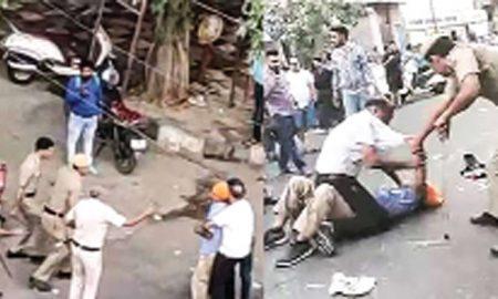 Vandalism of Delhi Police