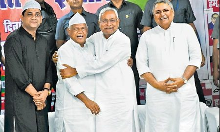 Bihar: After the ministerial dispute in BJP-JDU the alliance leaders said: Nitish would be good to come along