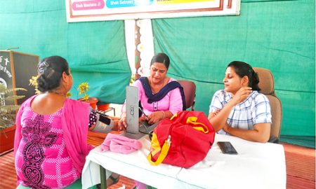 84 medical check-up in free medical checkup camp