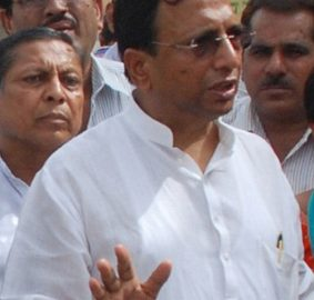BJP District President Pramod Vij installed water cooler