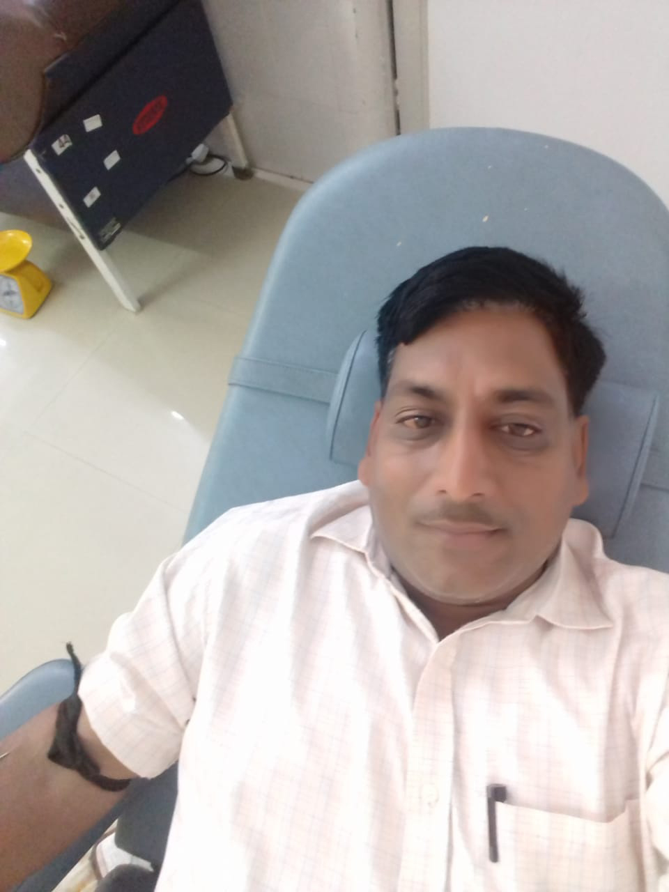 Blood donation performed by humanity